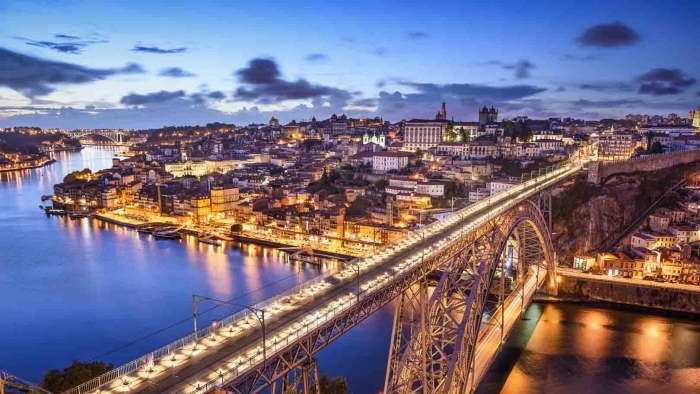 Porto at Night